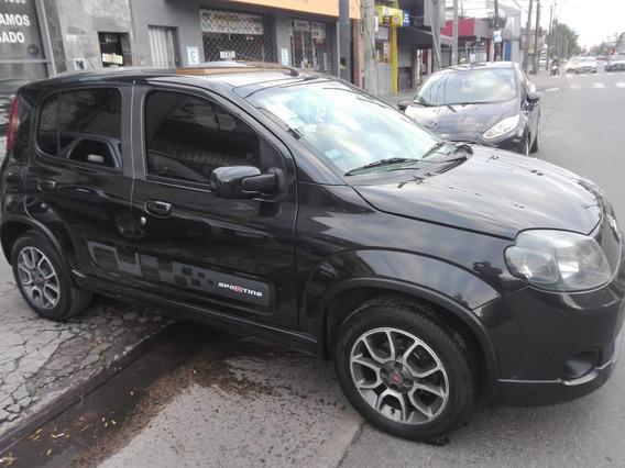 Fiat Uno Sporting, Año 2012,,negro, 5 Puertas
