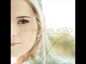 Cd Play Back De Todo Meu Coração Mariana Valadão