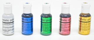 Colorantre Comestible Metalico Para Aerografo Chefmaster