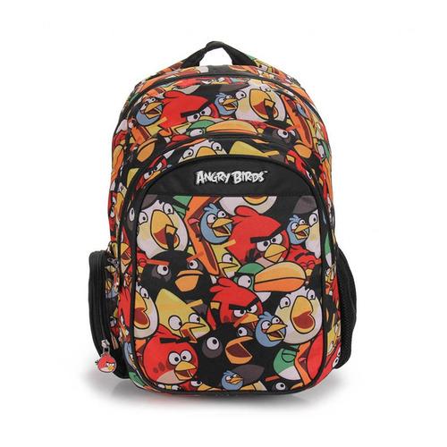 Mochila Angry Birds Personagens Com Porta Laptop