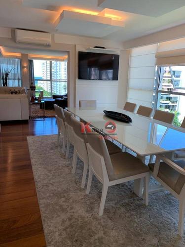Imagem 1 de 30 de Cobertura Com 4 Dormitórios À Venda, 550 M² Por R$ 3.500.000,00 - Boqueirão - Santos/sp - Co0219