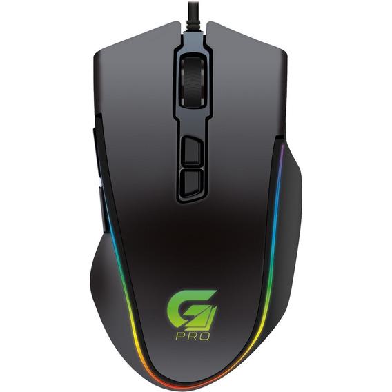 Mouse Gamer Pro M9 Rgb 4000dpi Preto Fortrek 64387 Macro