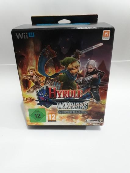 Jogo Wiiu Hyrule Warriors Limited Edition Kit