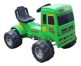 Camion A Pedal Gigante Rodacross Super Truck Ruedas Patonas