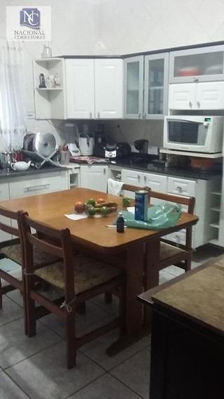 Sobrado Com 4 Dormitórios À Venda, 193 M² Por R$ 480.000,00 - Parque Oratório - Santo André/sp - So0854