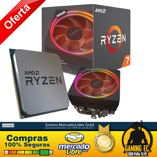 Ryzen 7 2700x Amd Procesador 3600 3600x 2600 2700 I5 I7