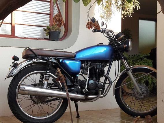 Moto Cg Bolinha Honda 125 Custom Motocicleta Cafe Racer