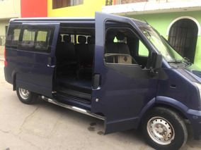 Combi, Minivan, Dfsk C37 Año 2015 /dual Gasolina/ Glp