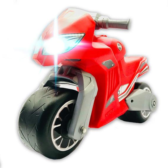 Moto Pata Pata Ener G Andarin Niños C O N L U Z - Vegui