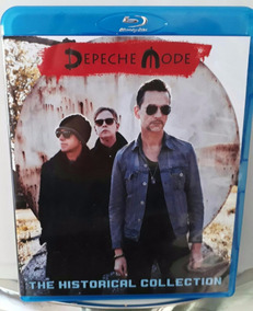Bluray Duplo Depeche Mode Historical Collection Frete Gráti