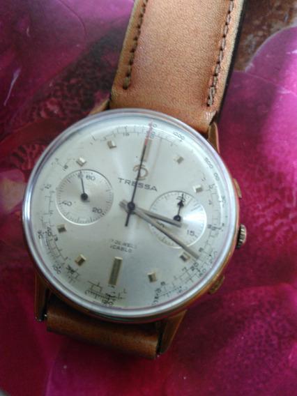 Relógio Tressa À Corda Cronograph Masculino