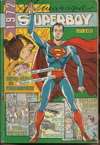 Almanaque Superboy 1972 (ed Ebal) (centro Em Cores)