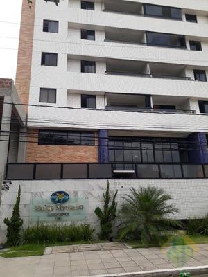 Apartamento Com 4 Dormitórios Para Alugar, 160 M² Por R$ 2.500/mês - Manaíra - João Pessoa/pb - Cod Ap0677 - Ap0677