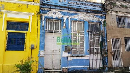 Casa Para Alugar, 380 M² Por R$ 1.600,00/mês - Boa Vista - Recife/pe - Ca0100