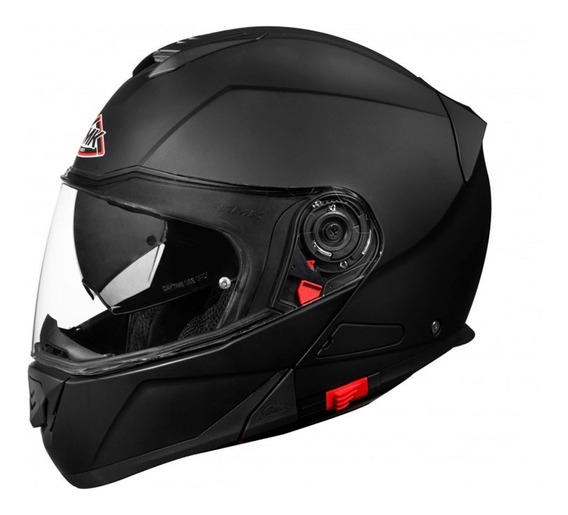Casco Moto Rebatible Smk Doble Visor Glide - Ahora 12