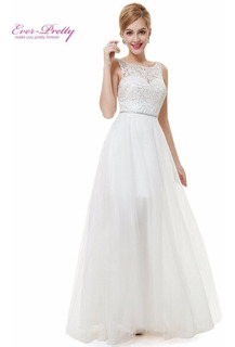 Vestido De Noiva Ever Pretty Importado Pronta Entrega Brasil