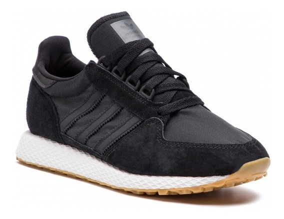 Tênis adidas Forest Grove Black White Masculino.