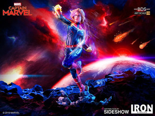 Iron Studios Captain Marvel Bds