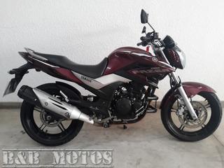 Yamaha Fazer Ys 250 Vermelha 2016 N Cg 150 Riva 150