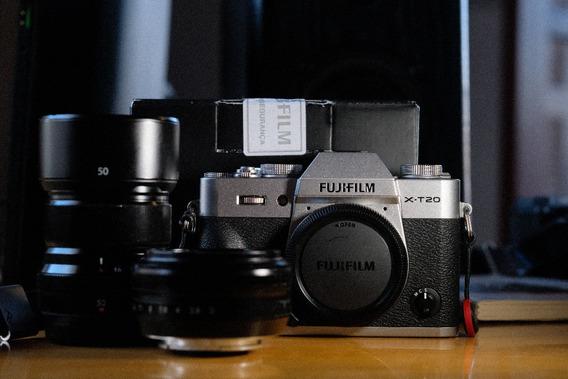 Fujifilm X-t20 Lente 23mm 18mm 50mm X-t2 X-pro2 X-t30 X100