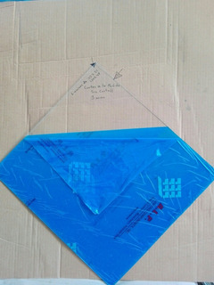 Acrilico Transparente Lamina 30 X 30 Cm