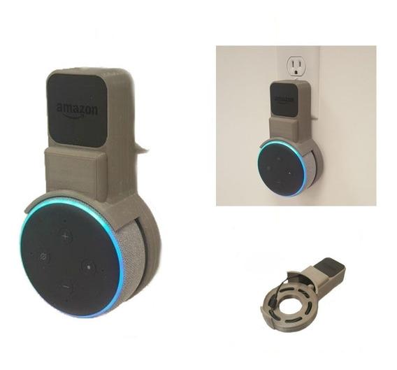 Suporte Stand De Tomada Amazon Alexa Echo Dot 3