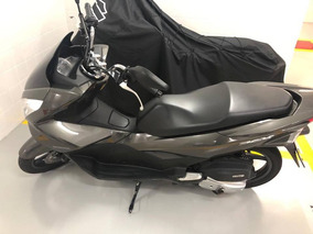 Honda Pcx 150cc Cinza Escura Baixa Km