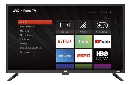 Smart Tv Pantalla 49 Pulgadas Jvc Roku Netflix Claro Amazon