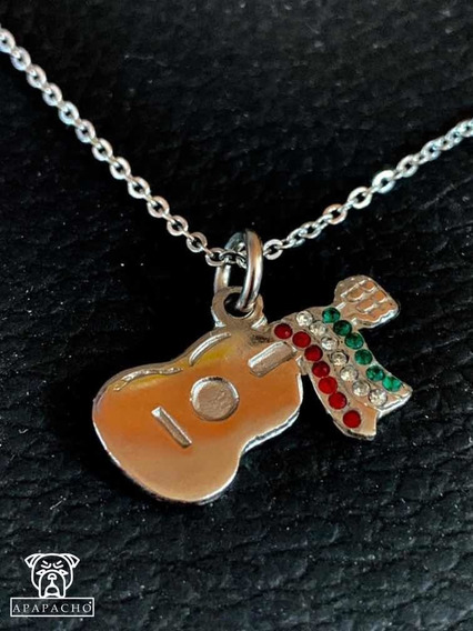 Dije Guitarra Mexicana