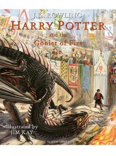 Harry Potter 4 - The Goblet Of Fire - Ilustrado
