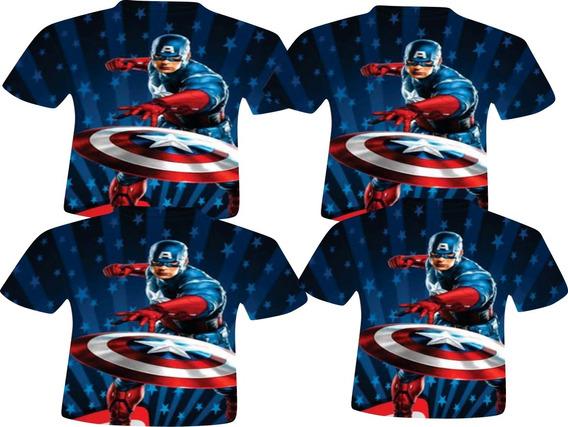 Blusas Adulto - Capitão América 1