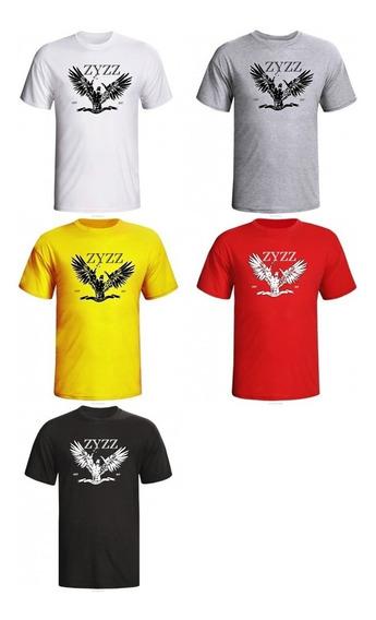 Camiseta Zyzz Asas De Anjo Para Treino Masculina