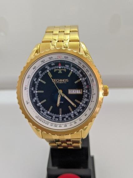 Relógio Technos Masculino Cor Dourada ( 8205nn)
