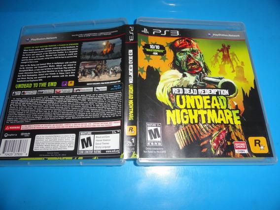 Red Dead Redemption Undead Nightmare Ps3 Fisica Coleção