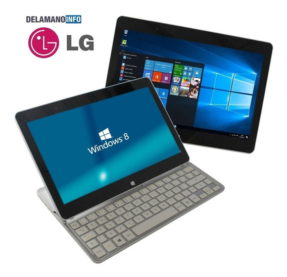 Notebook Lg Slidepad H160 2 Em 1 2gb 64gb (12120)
