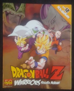 Estampas Sueltas Dragon Ball Z Warriors Panini