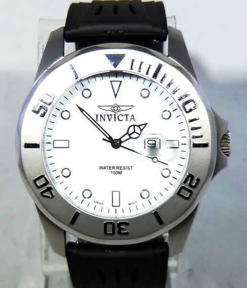 Relógio Invicta Original Vidro Cristal De Safira
