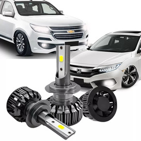 Kit Led Turbo Automotivo 9000lm H7 Ray X 6000k Full
