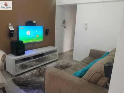 Apartamento A Venda No Bairro Vila Gustavo Em São Paulo - - A367-1