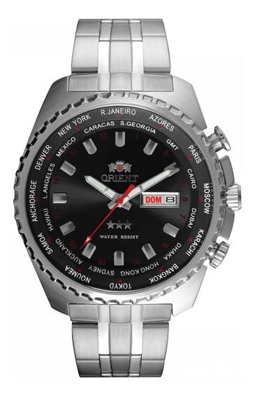 Relógio Orient Masculino Ref: 469ss057 P1sx Automático Gmt