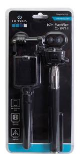 Bastón Selfie Bluetooth Con Tripoide Y Base Camara Go Pro