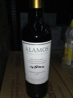 Vino Álamos Malbec