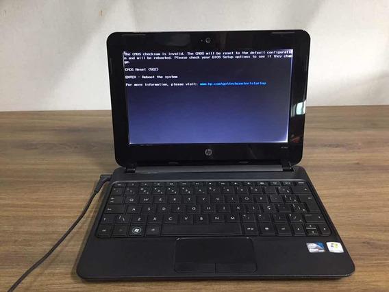 Netbook Hp Mini Atom N455 Com 2gb De Ram ( Leia A Descrição)
