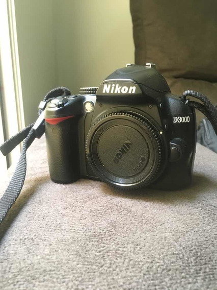 Camera Nikon D3000 - Novíssima/barato