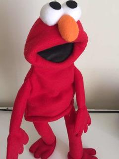 Títere De Elmo Cuerpo Completo