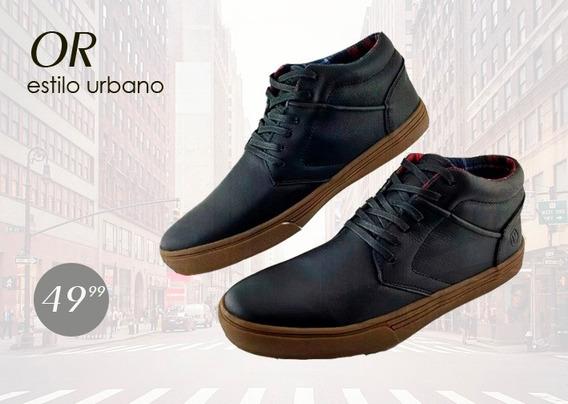 Zapato Hombre Casual Estilo Urbano. 100% Cuero. Oferta!