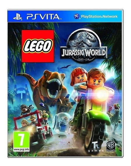 Jogo Lego Jurassic World - Ps Vita - Novo - Mídia Física