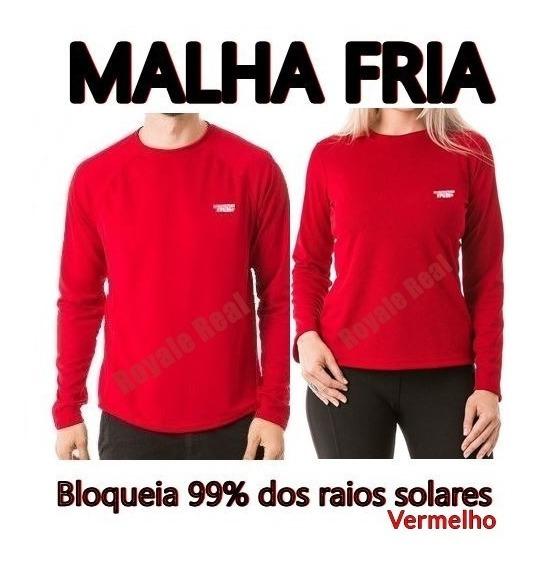 Kit 5 Camisas Proteção Uv Fpu 50 Moda Praia Unissex Malha Fria Masculina Feminina