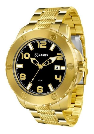 Relógio Masculino X Games Xmgs1026 P2kx Dourado