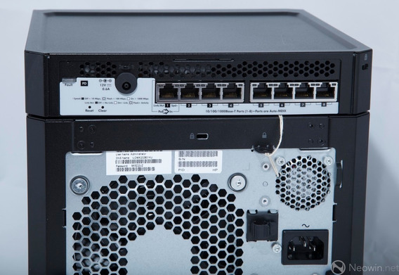 Hp Microserver Com Controladora Sas Raid 6gb Ram 6 Teras Poe